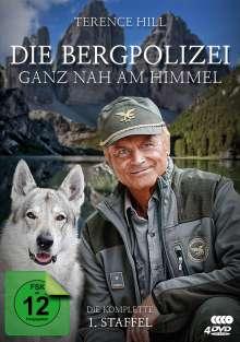 Die Bergpolizei - Ganz nah am Himmel Staffel 1, 4 DVDs