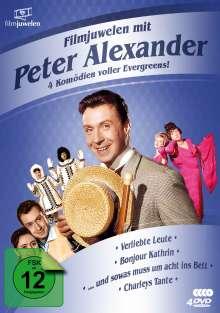 Filmjuwelen mit Peter Alexander: 4 Komödien voller Evergreens!, 4 DVDs