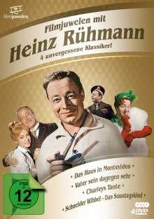 Filmjuwelen mit Heinz Rühmann: 4 unvergessene Klassiker!, 4 DVDs