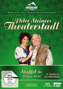 Peter Steiners Theaterstadl Staffel 6 (Folgen 76-91), 8 DVDs