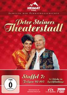 Peter Steiners Theaterstadl Staffel 7 (Folgen 92-105), 7 DVDs