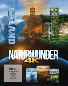 Naturwunder (Ultra HD Blu-ray), 3 Blu-ray Discs