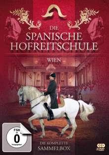 Die Spanische Hofreitschule (Wien) (Sammelbox), 3 DVDs