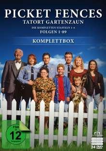 Picket Fences - Tatort Gartenzaun (Komplettbox), 24 DVDs