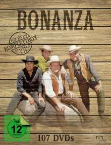 Bonanza (Komplettbox), 107 DVDs