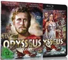Die Fahrten des Odysseus (Blu-ray & DVD), 1 Blu-ray Disc und 1 DVD