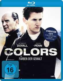 Colors - Farben der Gewalt (Blu-ray), Blu-ray Disc