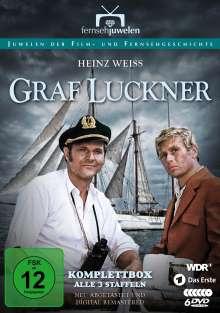Graf Luckner (Komplettbox), 9 DVDs