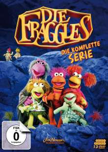 Die Fraggles (Komplette Serie), 13 DVDs