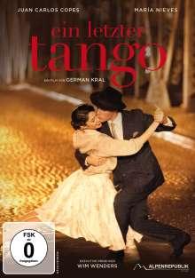 Ein letzter Tango, DVD