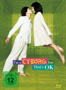 I'm a Cyborg, But That's OK (Blu-ray & DVD im Mediabook), 2 Blu-ray Discs