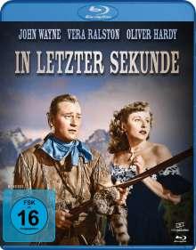 In letzter Sekunde (Blu-ray), Blu-ray Disc