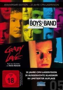 The Boys in the Band / Crazy Love, 2 DVDs