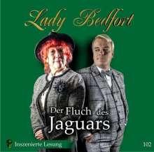 Lady Bedfort 102: Der Fluch des Jaguars, 2 CDs