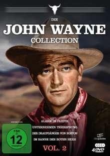 Die John Wayne Collection Vol. 2, 4 DVDs