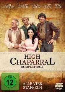 High Chaparral (Komplette Serie), 26 DVDs