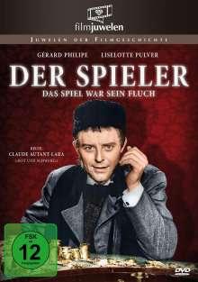 Der Spieler - Das Spiel war sein Fluch, DVD