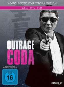 Outrage Coda (Blu-ray & DVD im Mediabook), 2 Blu-ray Discs und 1 DVD