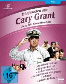 Cary Grant - Die große Komödien-Box (Blu-ray), 6 Blu-ray Discs
