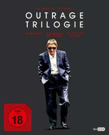 Outrage 1-3 (Blu-ray im Digipak), 3 Blu-ray Discs