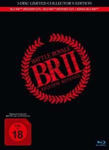 Battle Royale 2 (Requiem & Revenge Cut) (Blu-ray im Mediabook), 3 Blu-ray Discs