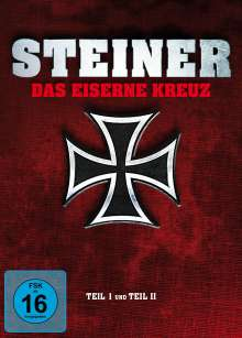 Steiner - Das Eiserne Kreuz I & II (Blu-ray & DVD im Mediabook), 2 Blu-ray Discs und 2 DVDs