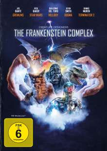 Creature Designers: The Frankenstein Complex (OmU), DVD