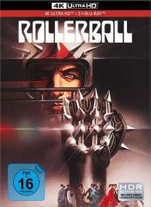 Rollerball (1975) (Ultra HD Blu-ray & Blu-ray im Mediabook), 1 Ultra HD Blu-ray und 2 Blu-ray Discs