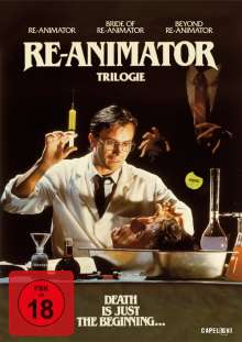 Re-Animator 1-3, 3 DVDs
