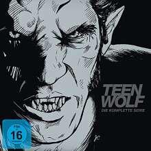 Teen Wolf Staffel 1-6 (Komplettbox als Book-Edition) (Blu-ray), 25 Blu-ray Discs