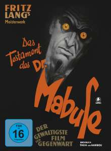 Das Testament des Dr. Mabuse (Blu-ray & DVD im Mediabook), Blu-ray Disc