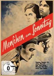 Menschen am Sonntag (Blu-ray & DVD im Mediabook), 1 Blu-ray Disc und 1 DVD