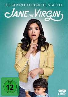 Jane the Virgin Staffel 3, 5 DVDs