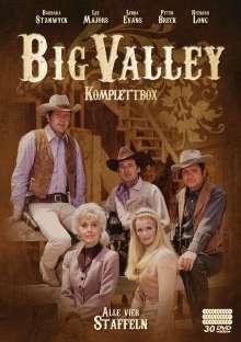 Big Valley (Komplettbox), 30 DVDs