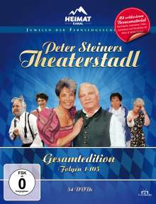 Peter Steiners Theaterstadl (Gesamtedition), 54 DVDs