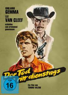 Der Tod ritt dienstags (Blu-ray & DVD im Mediabook), 2 Blu-ray Discs