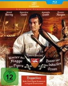 Unter der Flagge des Tigers / Donner über dem Indischen Ozean (Blu-ray), 2 Blu-ray Discs