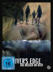 River's Edge (1986) (Blu-ray & DVD im Mediabook), 1 Blu-ray Disc und 1 DVD
