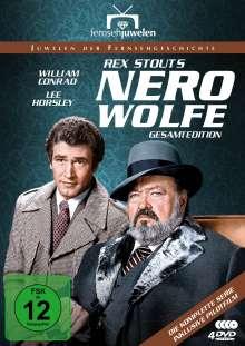 Nero Wolfe (Gesamtedition), 4 DVDs