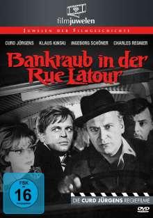 Bankraub in der Rue Latour, DVD