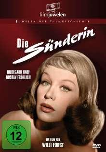 Die Sünderin, DVD