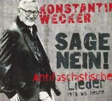 Konstantin Wecker: Sage Nein! (Antifaschistische Lieder: 1978 bis heute), CD