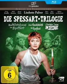 Die Spessart-Trilogie (Blu-ray), 3 Blu-ray Discs
