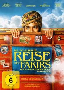 Die unglaubliche Reise des Fakirs, der in einem Kleiderschrank feststeckte, DVD