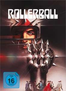Rollerball (1975) (Blu-ray & DVD im Mediabook), 2 Blu-ray Discs und 1 DVD