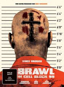 Brawl in Cell Block 99 (Blu-ray & DVD im Mediabook), 1 Blu-ray Disc und 1 DVD