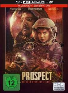 Prospect (Ultra HD Blu-ray, Blu-ray & DVD im Mediabook), Ultra HD Blu-ray