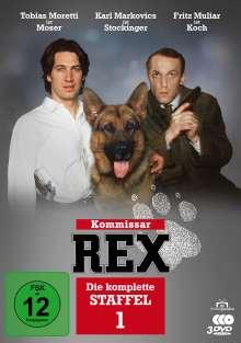 Kommissar Rex Staffel 1, 3 DVDs