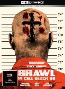 Brawl in Cell Block 99 (Ultra HD Blu-ray & Blu-ray im Mediabook), 1 Ultra HD Blu-ray und 1 Blu-ray Disc