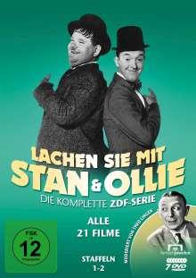 Lachen Sie mit Stan & Ollie (ZDF-Gesamtedition), 7 DVDs